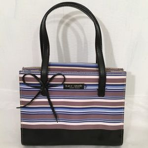 Vintage Kate Spade Striped Mini Bag
